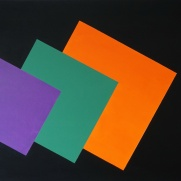 Shapes II 100x120 cm Oil on canvas