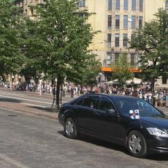 President Niinistö arriving