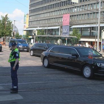 President Putin arriving